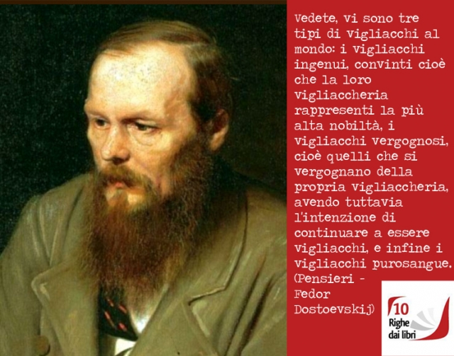 Pensieri - Fedor Dostoevskij