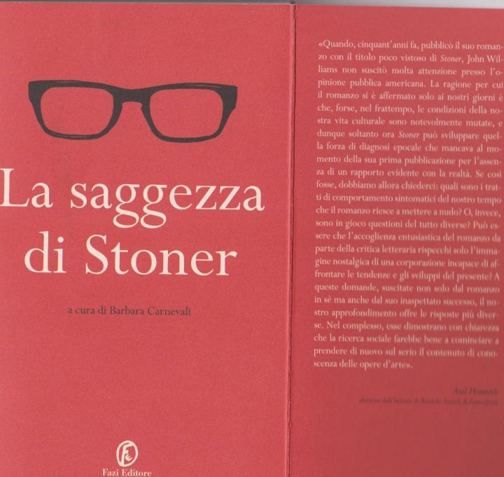 La saggezza di Stoner
