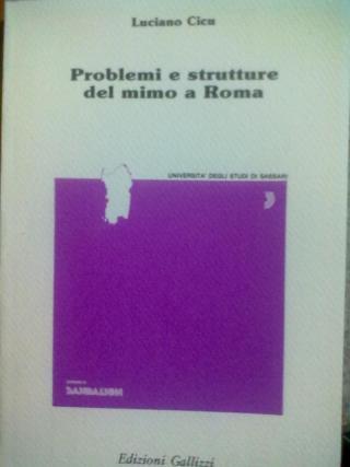 Problemi e strutture del mimo a Roma